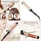 Anjou Curling Iron 1.5 Inch With Tourmaline Ceramic Coating,