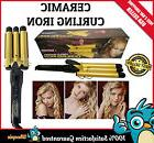 Curling Iron Hair Care Heat Triple 3 Barrel Waver Hot Tools