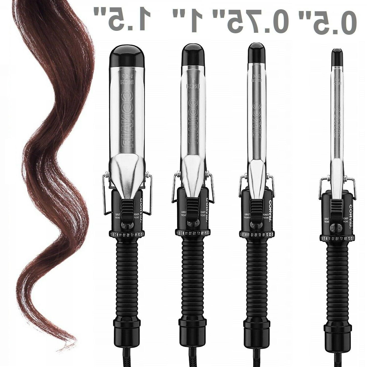 curling iron instant heat women styling professional