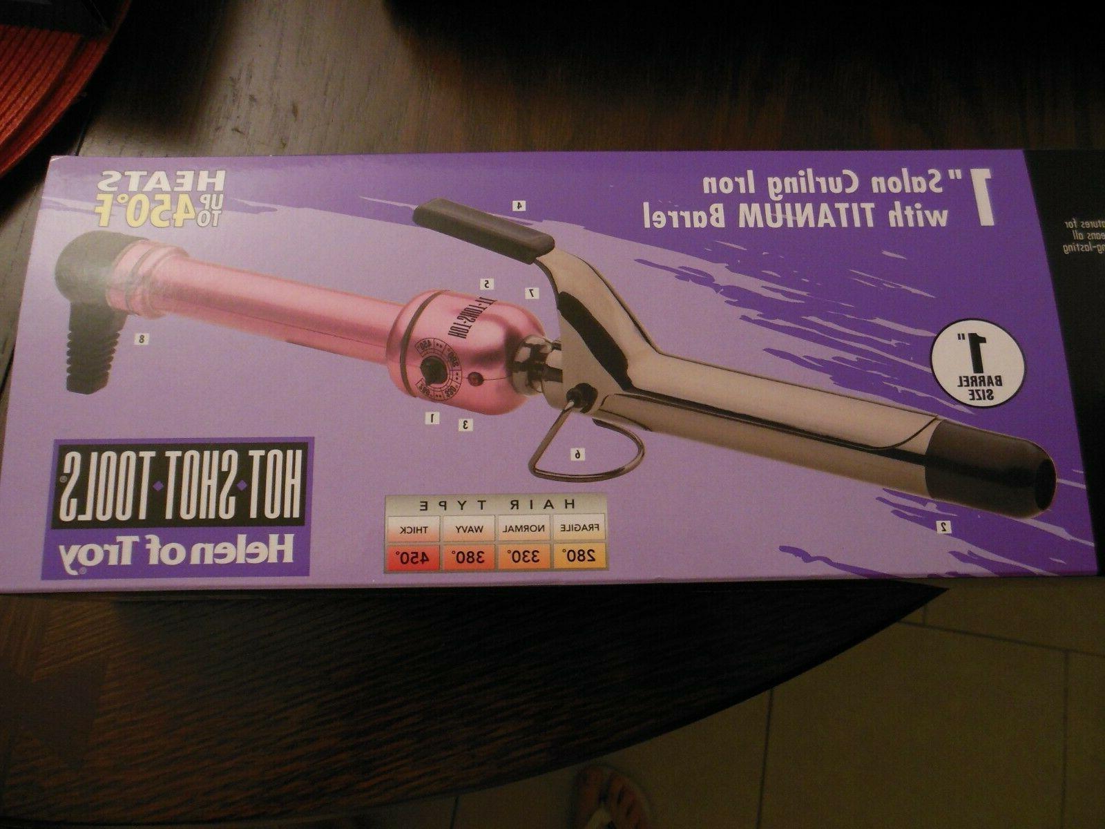 Hot Shot Tools * Curling Iron TITANIUM BARREL