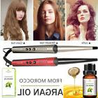 Digital LCD Hair Curling Wand Styling Tong Conical Curler Ir