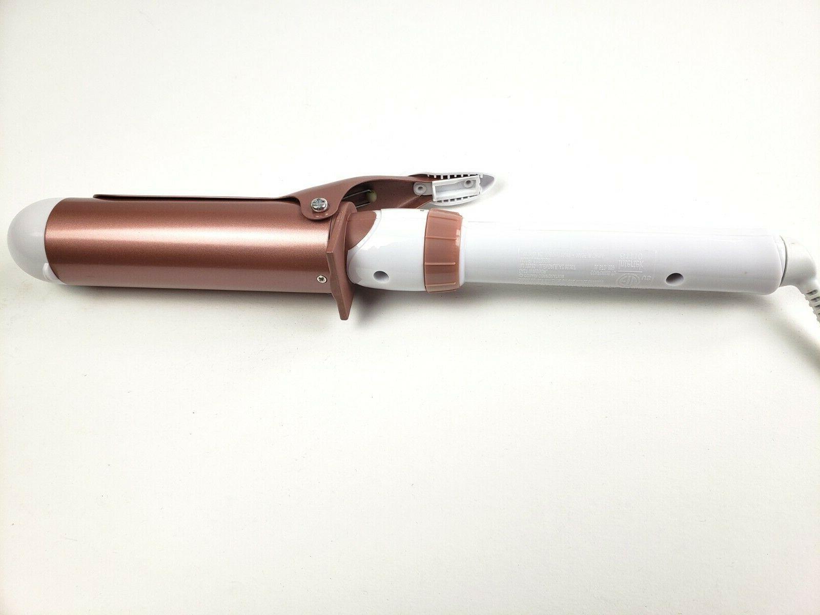 Conair Double Iron, Inch Iron, White/Rose