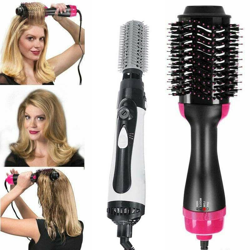hair blow dryer style iron curling hot