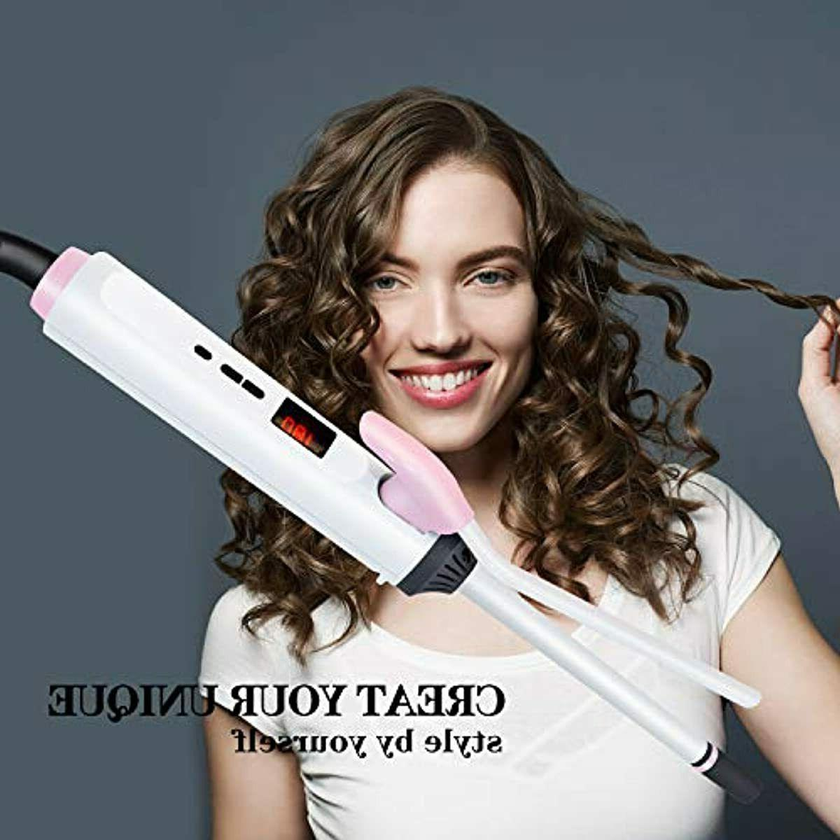 Hair 1/3 Ceramic Curling Wand for Curl