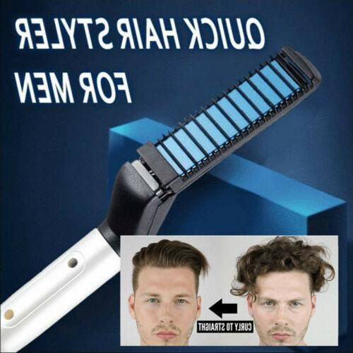 Hair Curling All In One Hair Styling Iron Beard Straight