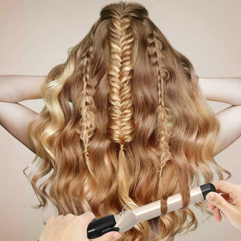 Hair Curling Wand Inch, Ceramic Display,