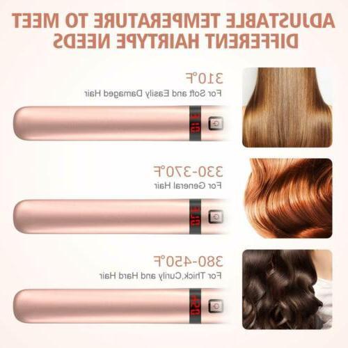 Professional 2 in Twist Hair Straightener Curling