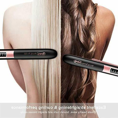 Deogra Hair Press Iron Curling Off