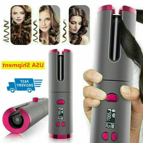 Portable LCD Display Cordless Hair