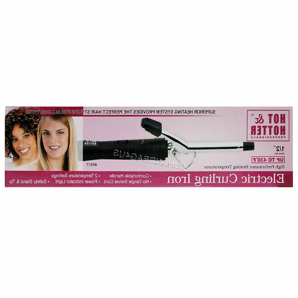 Annie Hot & Hotter Professionals Electric Hair Curling Iron