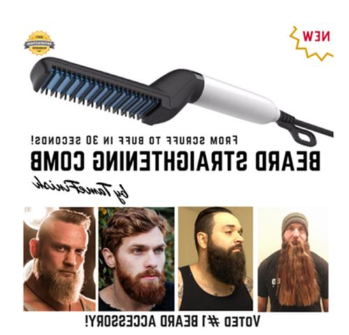 Hot Sale Men's Iron Hair Comb Electric