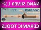 "CONAIR JILBERE 1 1/4"" NANO SILVER 450° CERAMIC TOOLS CLIP C"