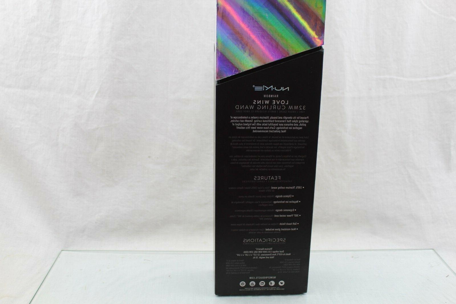 NuMe Love 32mm Rainbow Wand 27A4