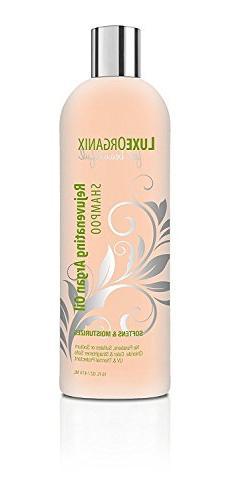 Moroccan Argan Oil Shampoo 16 OZ Free of Sulfates Sodium Chl