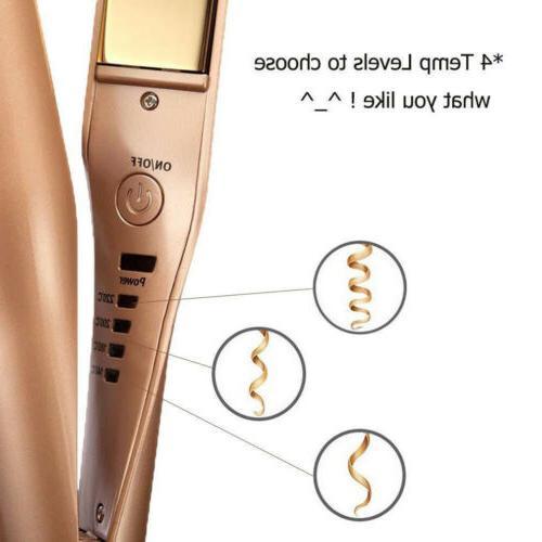 NEW 2 MESTAR Hair Straightener Iron - US STOCK