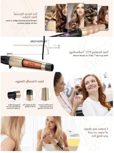 NEW Curling Wand 1-1.5 inch Anjou Iron