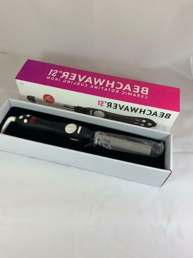 NEW Open Box The Beachwaver 1137 S1 Curling Iron #4373