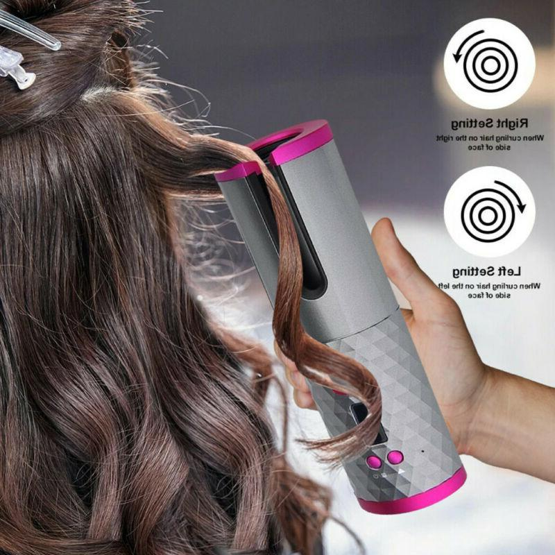 Portable Curler Hair Iron Display