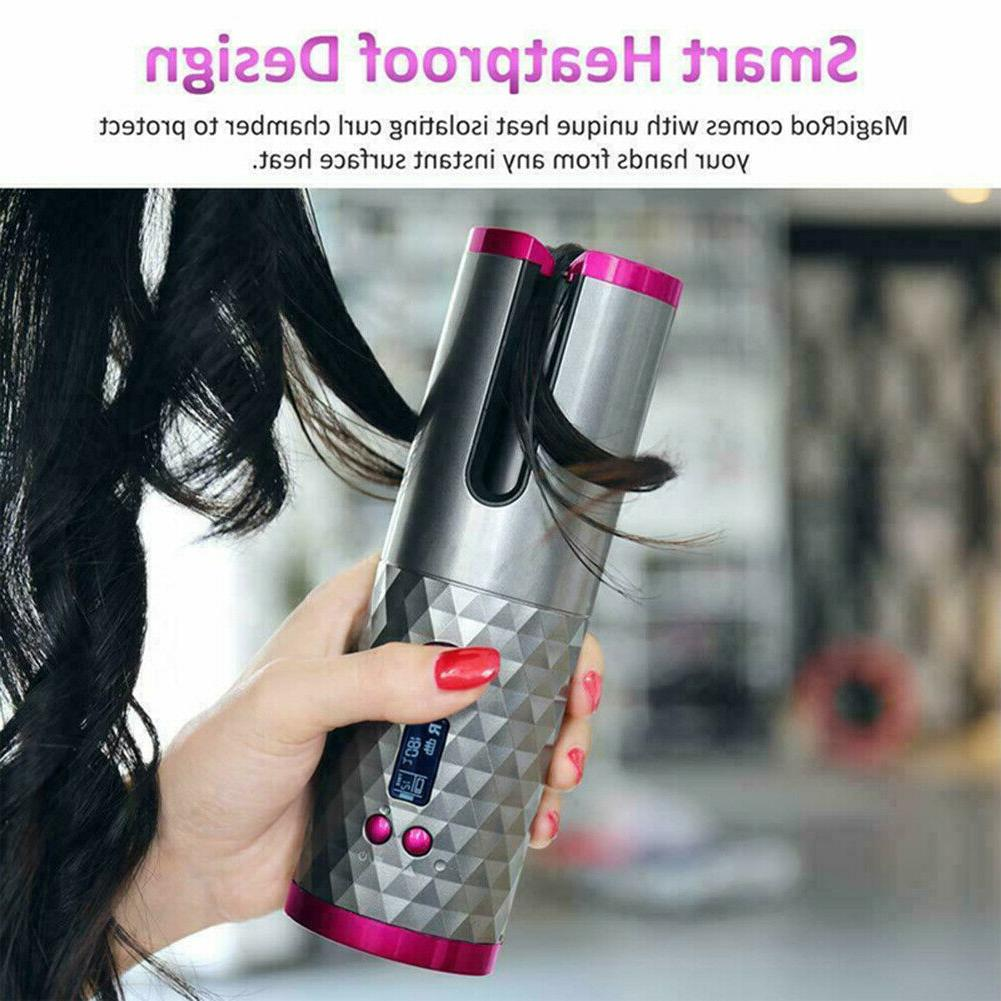 Smart Wireless Curling Iron Hair Curly Hair