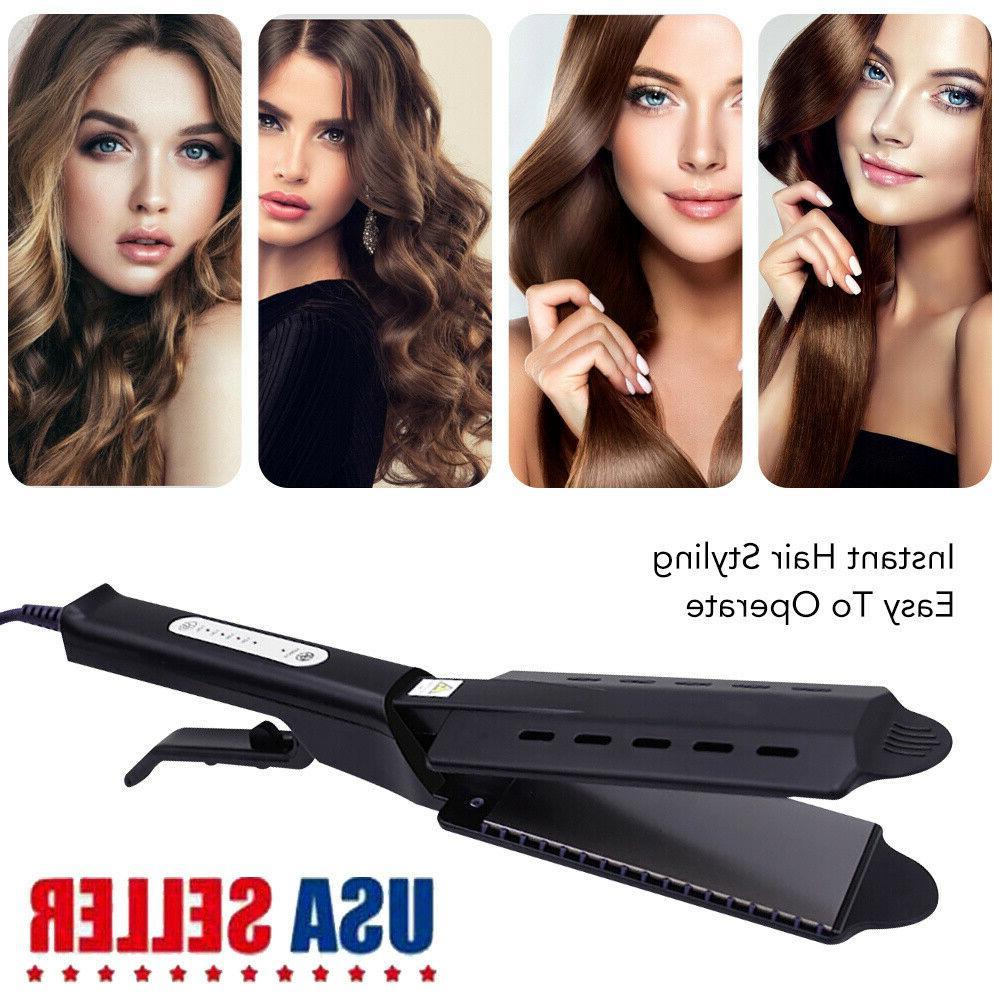 2In1 Professional Twist Hair Straightener Hair Curling Strai