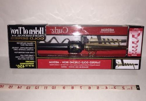 Helen of Troy Professional Gold Series Tapered Curling Iron