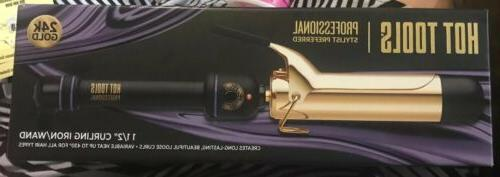 Hot Curling Iron 1102 Spring Gold Styling