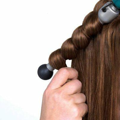 Rock n Bubble Wand Styling Hair Styling Teal