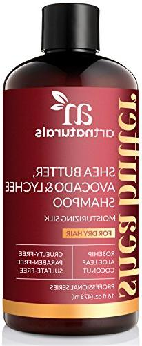 ArtNaturals Shea-Butter Avocado and Lychee Shampoo –  –