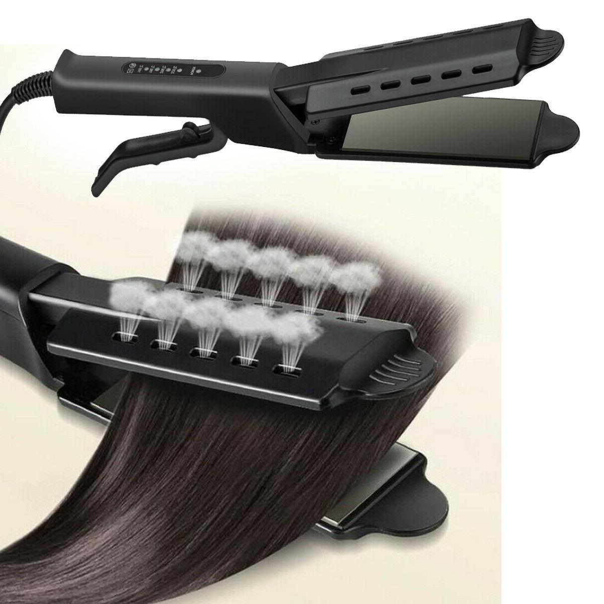 Four-gear Tourmaline Ionic Flat Iron Hair Salon Glider