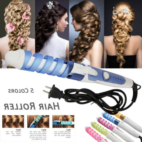 Magic Curl Electric Hair Care Tools Curler Spiral Hair Rolle
