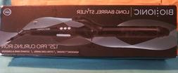 Bio Ionic Long Barrel Styler 1. 25 Pro Curling Iron/NIB