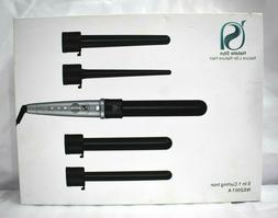 Natalie Styx 5 in 1 curling wand with detachable curl sizes,