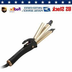 2 in1 Hair Straightener Curler Styler Negative Ions Curling
