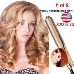 db5a38237a63 NEW 2 IN 1 MESTAR IRON PRO - Hair Straightener Curling Iron