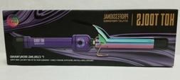 "New Hot Tools Professional 1"" Curling Iron/Wand Rainbow Go"
