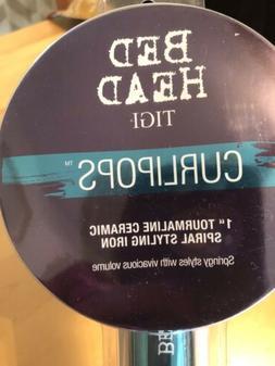 "New Bed Head TIGI Curlipops 1 1/2"" Tourmaline Ceramic Styl"