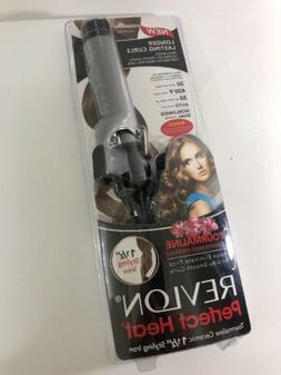 "Revlon Perfect Hair 1 1/2 "" inch Tourmaline  Ceramic Styling"