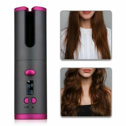 Portable Cordless Hair Auto-rotating Curler Hair Waver Curli