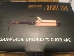 "Hot Tools Pro 2"" Salon Curling Iron Wand 24K Gold #1111 - FR"