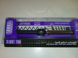 "Hot Tools Pro 5/8"" Salon Curling Iron Wand 24K Gold #1109 -"