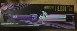 Hot Tools Professional 1.25 Inch Rainbow Gold Curling Iron W