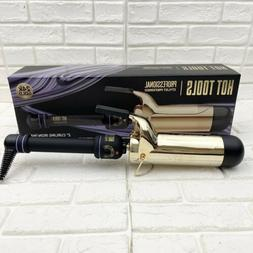 Hot Tools Professional 24K Gold Regular Barrel Curling Iron/