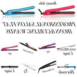 Professional Salon Hair Curling Wands & Flat Iron: Beauty La