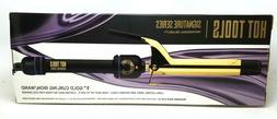 "Hot Tools Signature Series 1"" Salon Curling Iron Wand Gold"