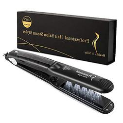 steam hair straighteners 2 in 1 professional