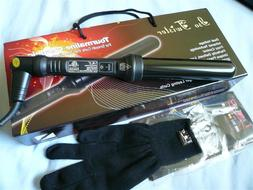 ISO BEAUTY TWISTER 32mm CLIPLESS HAIR CURLING IRON CURLER BL