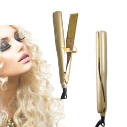 US Type Negative Lons 2 in=1 Hair Straightener And Curling I
