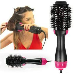 4-In-1 One Step Hair Dryer & Volumizer Brush Comb Straighten