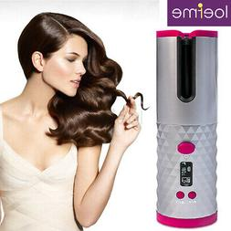 USB Automatic Cordless Hair Curler Curling Iron Adjustable T