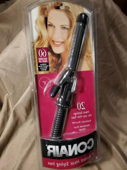 "Vtg Conair 1"" Curling Iron For Any Hair Type New Nip"